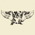 Angel Dog Graphic T-Shirt
