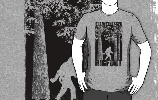 Eye Witnessed Bigfoot Graphic T-Shirt