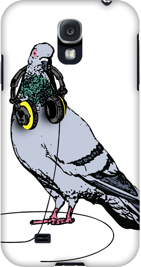Nocturnal Prototype techno pigeon Samsung Galaxy cases and skins
