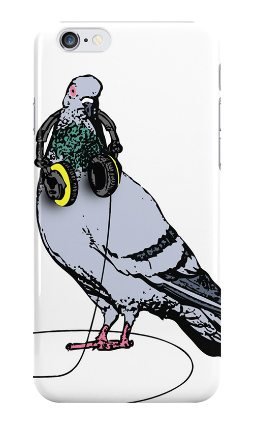 Nocturnal Prototype techno pigeon iPhone cases and skins