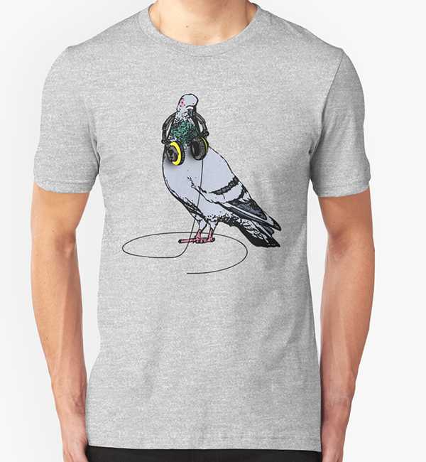 Techno T-Shirt | The Techno Pigeon