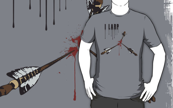 I LARP Graphic T-Shirt
