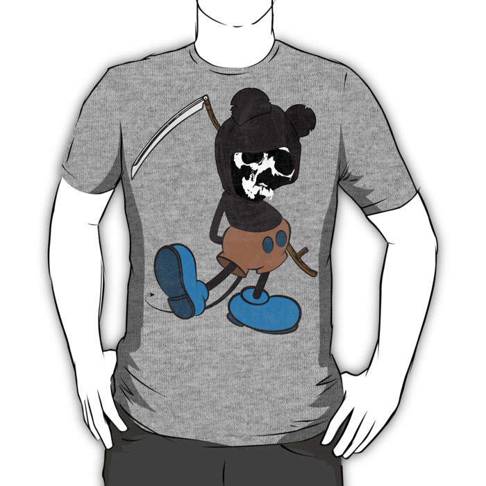 Reaper Rodent Graphic T-Shirt