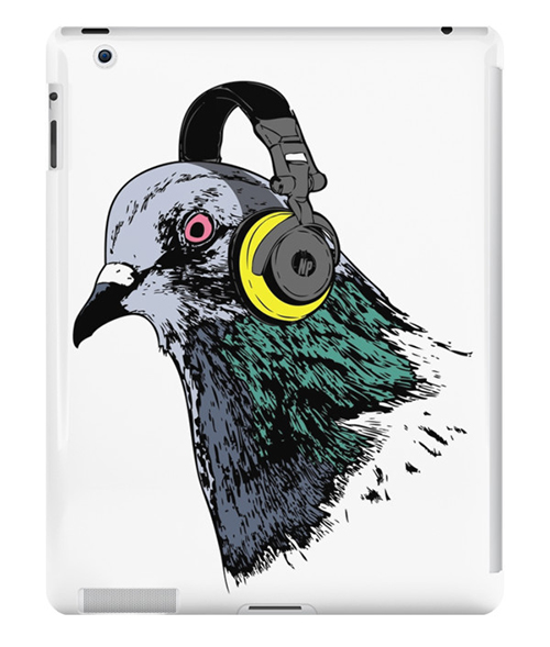 Techno Pigeon 2 iPad Case