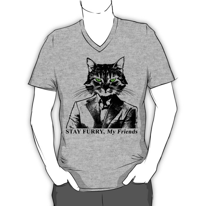 The most interesting cat in the world graphic t-shirt