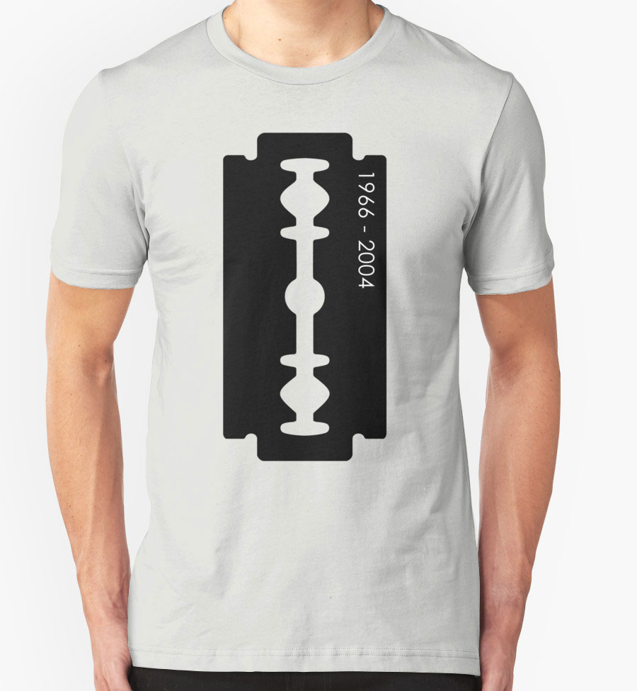 Dimebag Darrell Razor Necklace Graphic T Shirt Nocturnal