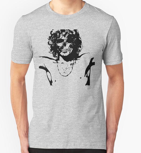 Tribute Jim Morrison t-shirt design
