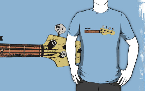 Funk Bass Graphic T-Shirt