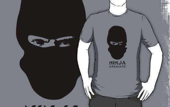 Ninja Graduate Graphic T-Shirt