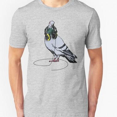 Techno T-Shirt | The Techno Pigeon