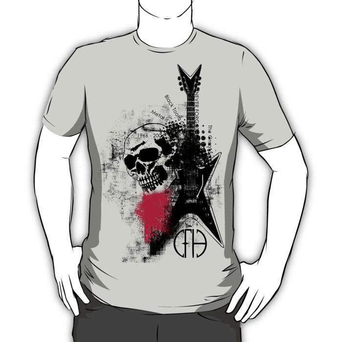 Trash Polka Dimebag Darrell Graphic T-Shirt